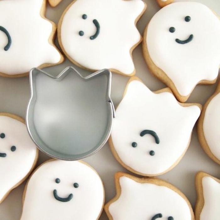 wunderschönes halloween essen - weiße schöne leckereien