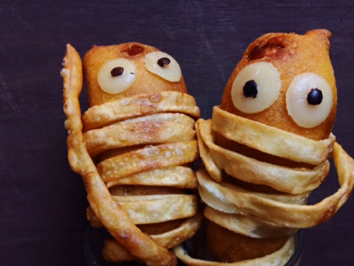 halloween-essen-zwei-sehr-lustige-figuren