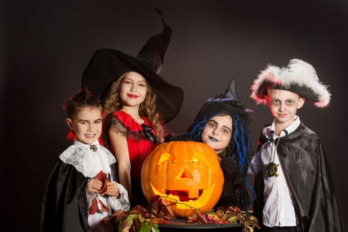 halloween-für-kinder-ein-kürbis