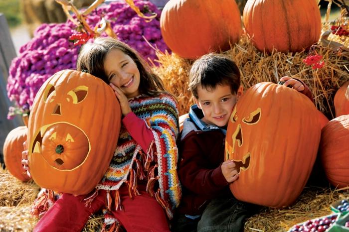 halloween-für-kinder-kürbisse