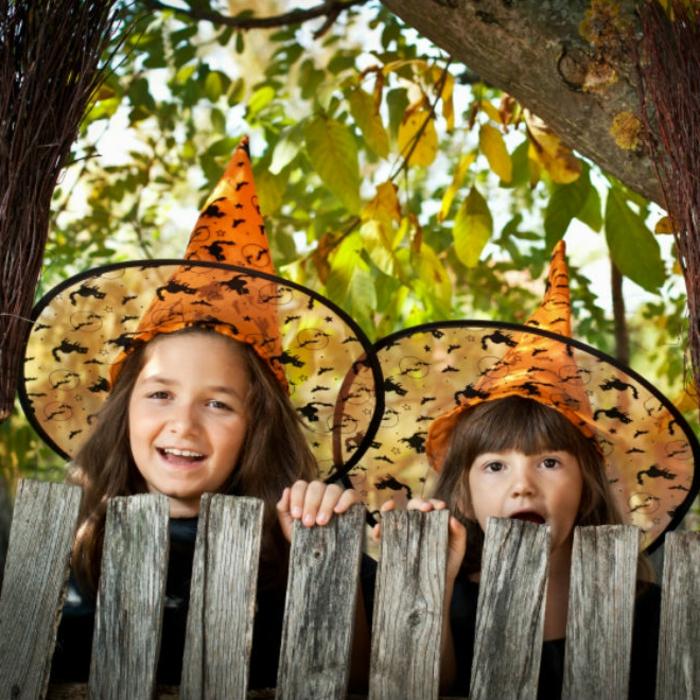 halloween-für-kinder-zwei-kinder
