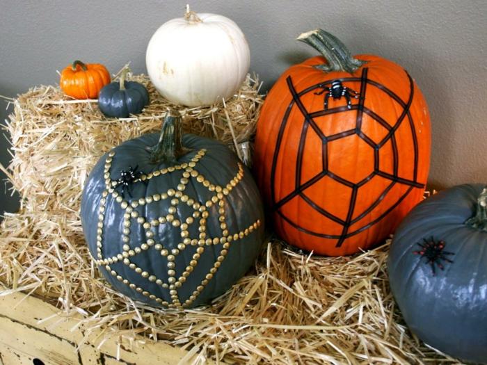 halloween-kürbisse-einfache-schöne-deko
