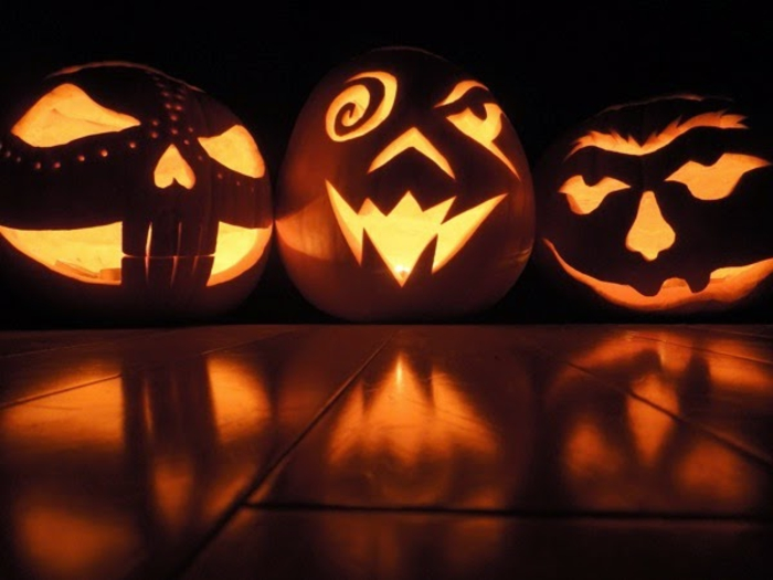 halloween-kürbisse-interessante-modelle