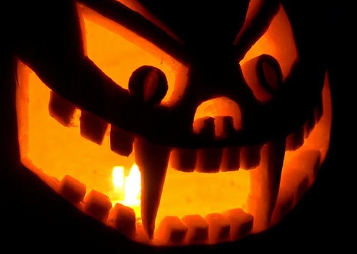halloween-kürbisse-schrecklich-wirken
