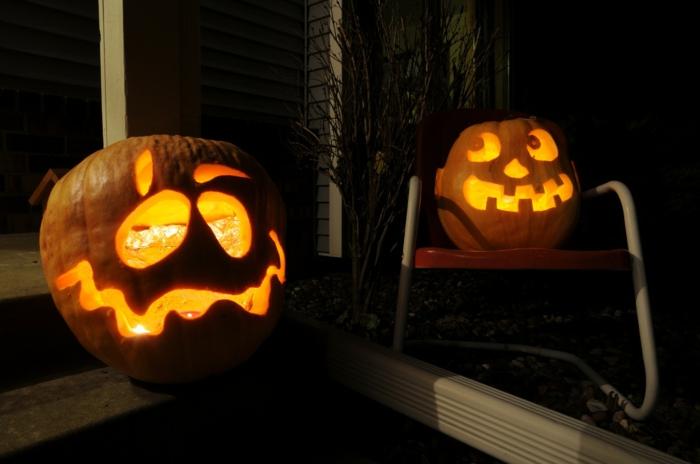 halloween-kürbisse-super-lustiges-modell