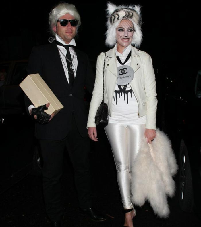 halloween-partnerkostüme-hochzeit-weißes-tierkostüm