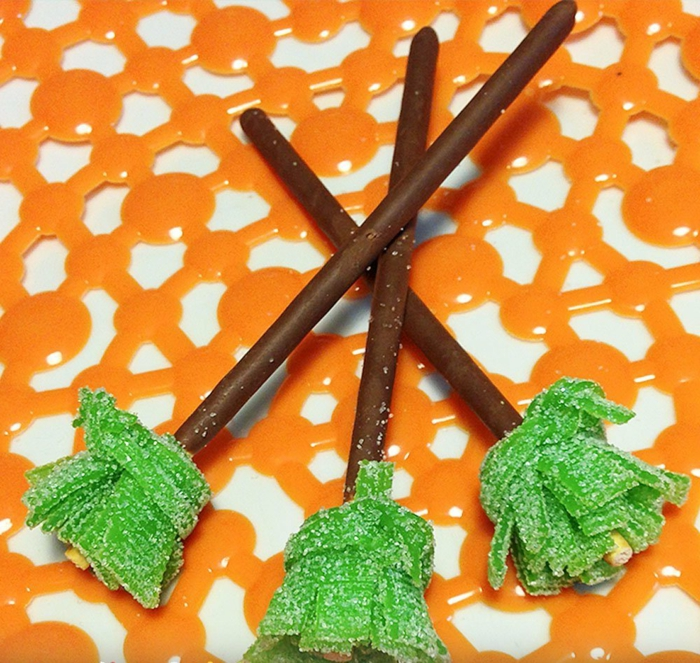 halloween-süßigkeiten-grün-schokolade-orange