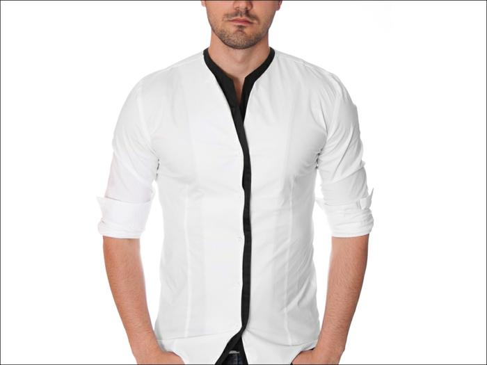 hemd-ohne-kragen-weißes-design-super-look