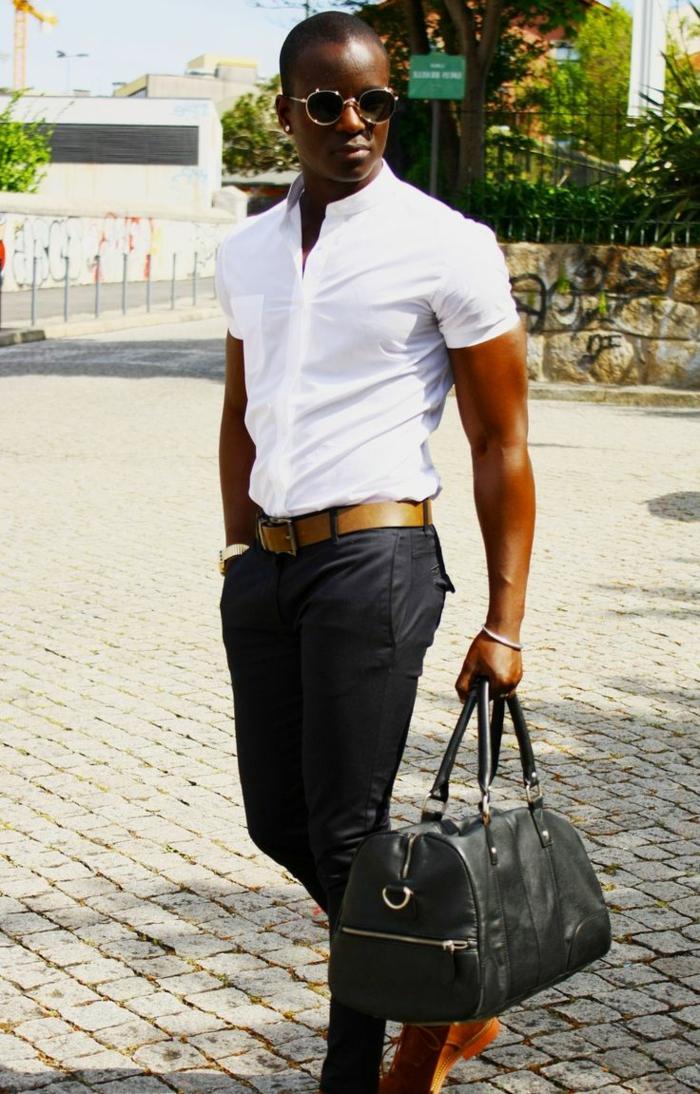 hemd-ohne-kragen-weißes-modell