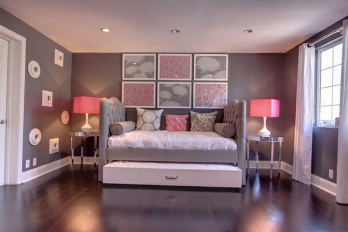 ideen-fürs-bett-lila-farbe-im-schlafzimmer
