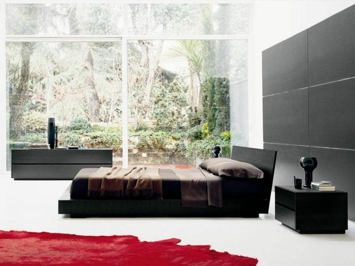 ideen-fürs-bett-modernes-schlafzimmer-einrichten
