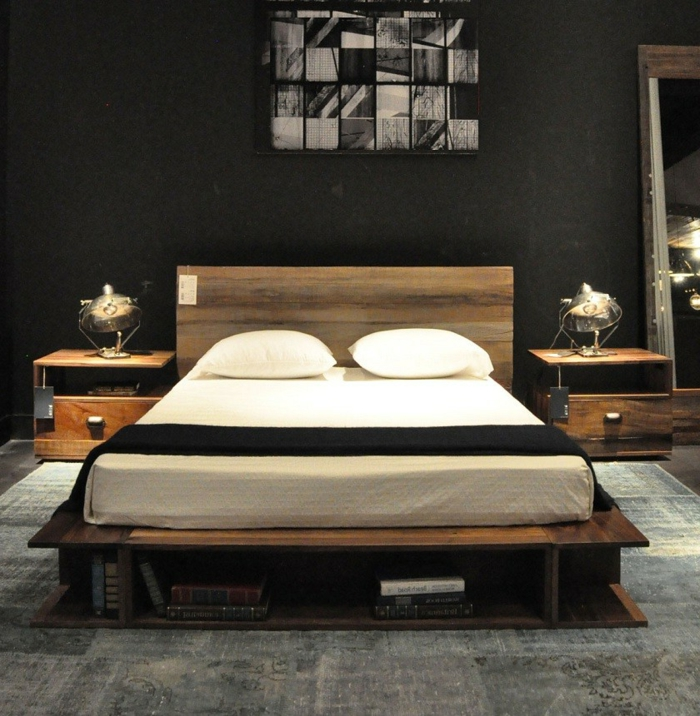 verbl ffende ideen f rs bett echte hingucker. Black Bedroom Furniture Sets. Home Design Ideas