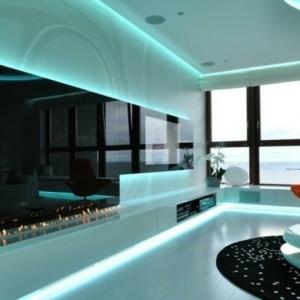 indirekte beleuchtung: 37 super fotos! - archzine.net - Indirekte Deckenbeleuchtung Wohnzimmer