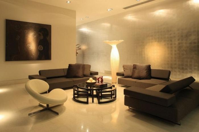 indirekte-beleuchtung-fürs-wohnzimmer-braune-tolle-gestaltung