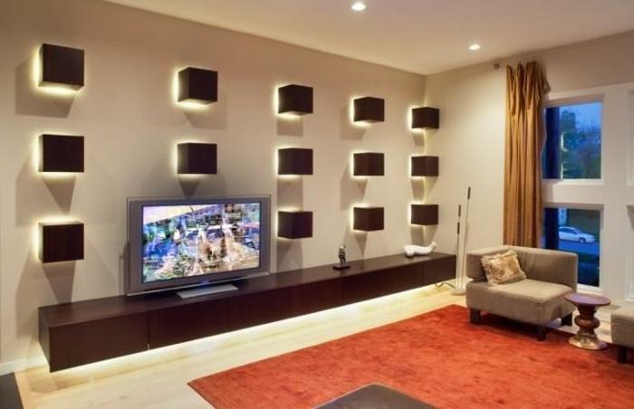 Indirekte Beleuchtung Frs Wohnzimmer Coole Wandgestaltung