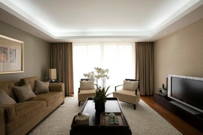 indirekte beleuchtung fürs wohnzimmer: 60 ideen! - archzine.net - Design Beleuchtung Im Wohnzimmer