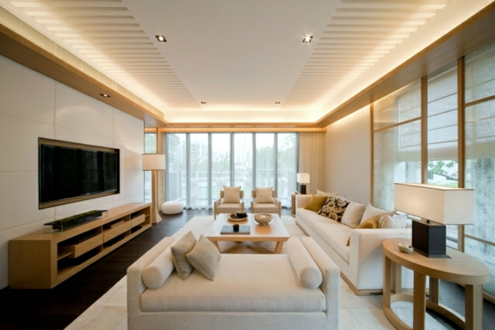 indirekte-beleuchtung-fürs-wohnzimmer-gläserne-wand