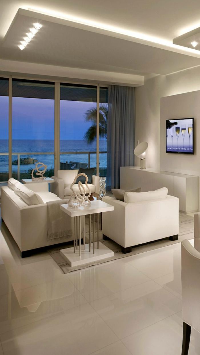 Indirekte beleuchtung fürs wohnzimmer: 60 ideen!