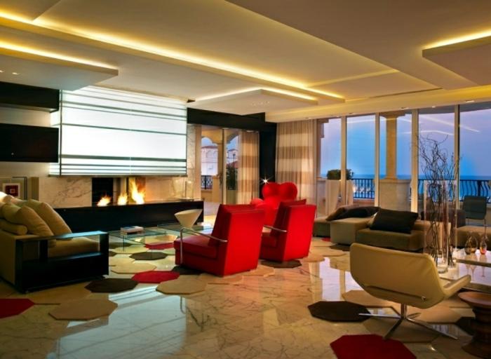 indirekte-beleuchtung-fürs-wohnzimmer-originelle-ausstattung