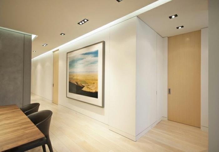 schöne wohnzimmer wände:indirekte-beleuchtung-fürs-wohnzimmer-schöne-weiße-gestaltung