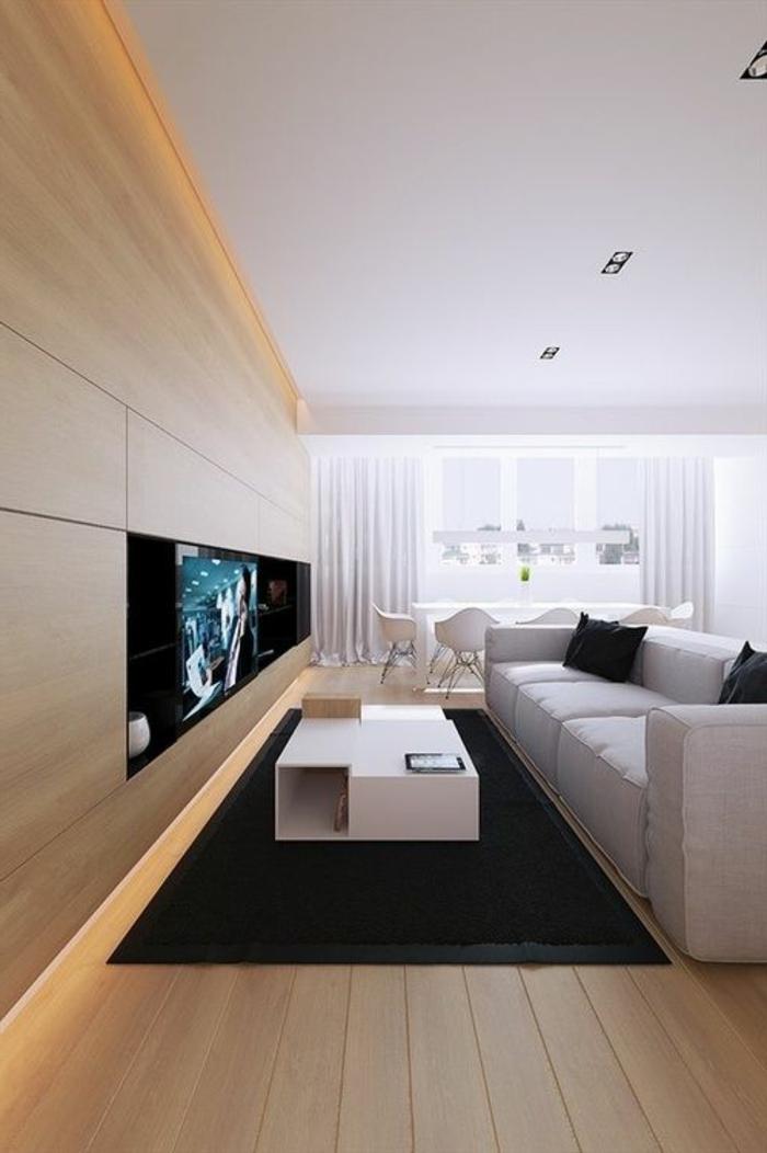 indirekte beleuchtung f rs wohnzimmer 60 ideen. Black Bedroom Furniture Sets. Home Design Ideas