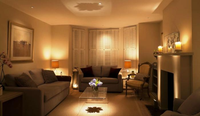 Led indirekte beleuchtung f rs wohnzimmer