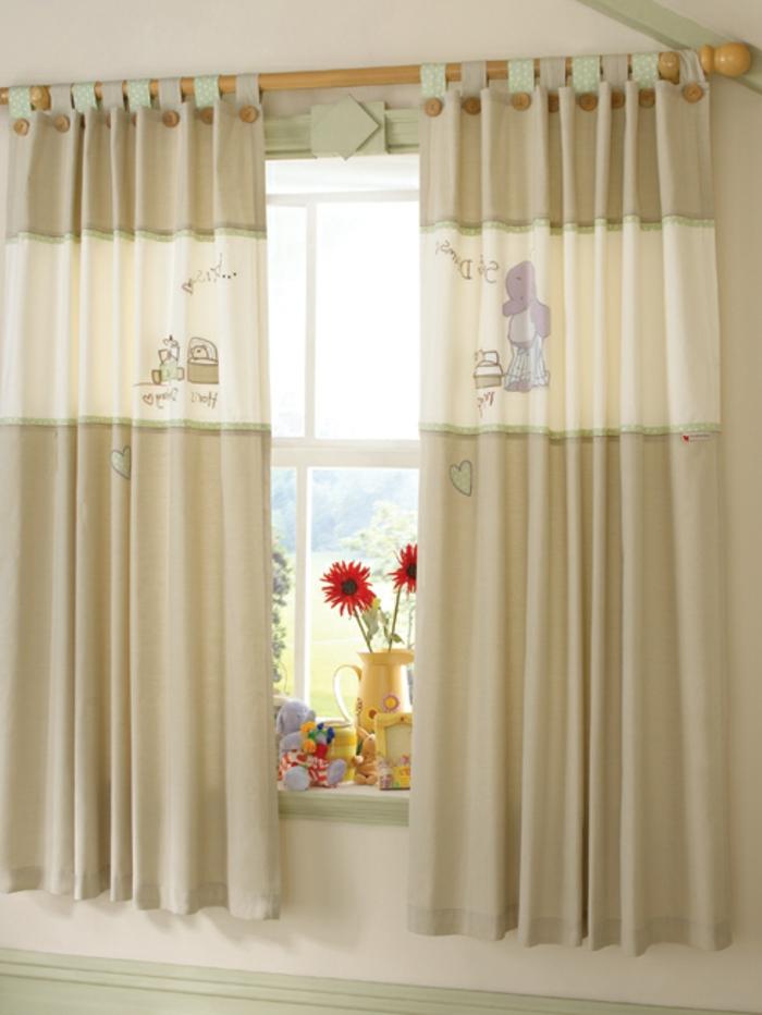 kinder gardinen-kurz-für-babyzimmer