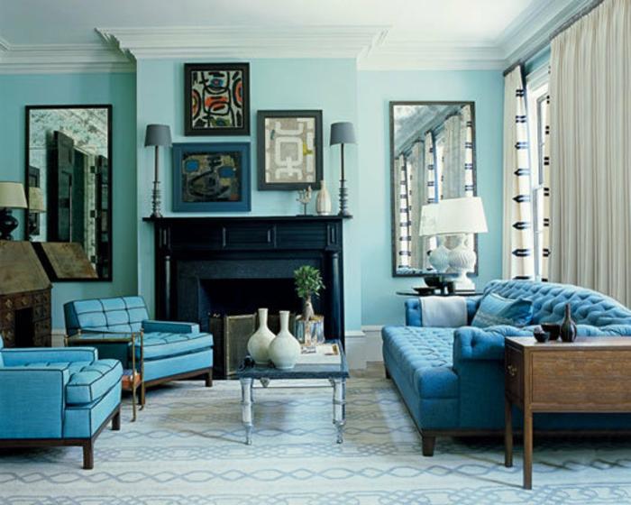 kissen-in-türkis-farbe-elegantes-wohnzimmer