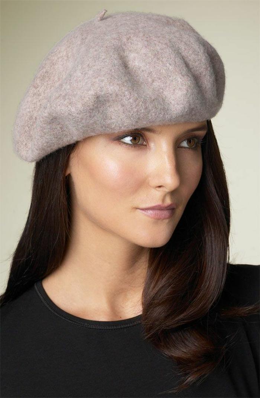 klassisches-Barett-Wolle-französischer-Hut-Mütze