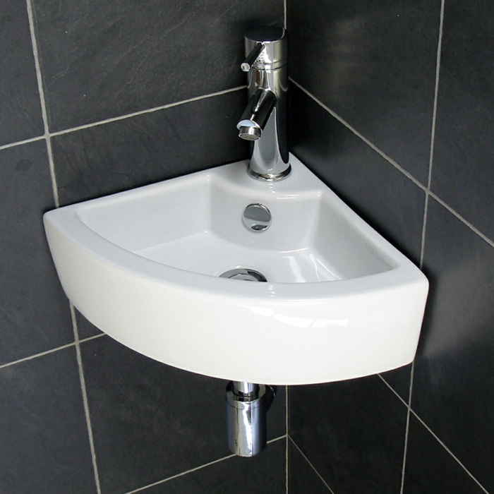 kleine-waschbecken-dreieckiges-modell