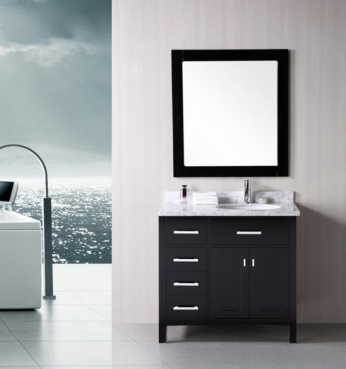 kleine-waschbecken-viereckiger-spiegel