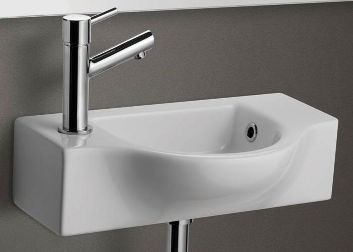 kleine-waschbecken-weißes-schönes-modell-graue-wand