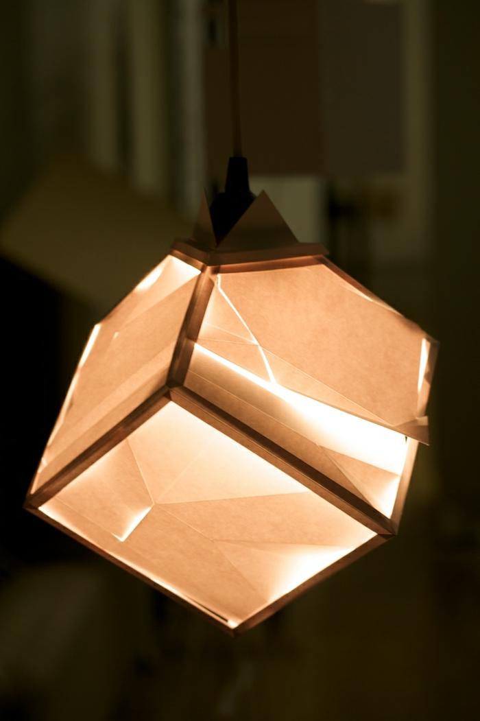 kreative-gestaltung-papierlampe