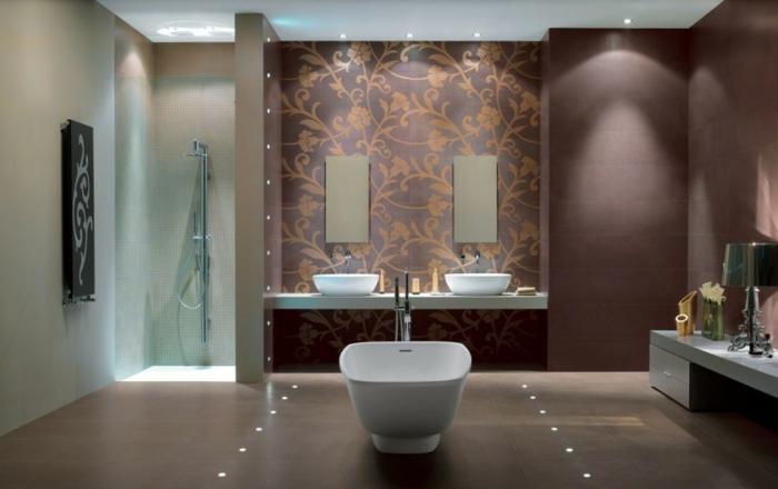 LED indirekte Beleuchtung für ein exklusives Badezimmer - Archzine.net