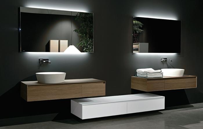 led indirekte beleuchtung f r ein exklusives badezimmer. Black Bedroom Furniture Sets. Home Design Ideas