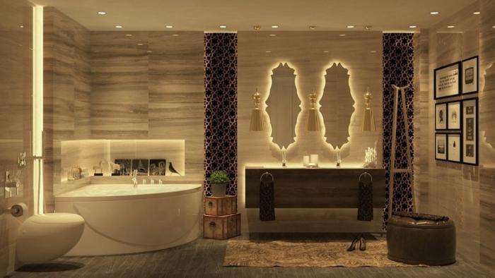 Indirekte Led Beleuchtung Badezimmer : LED indirekte Beleuchtung für ein exklusives Badezimmer - Archzine ...