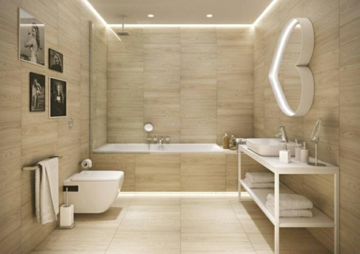 Moderne badewanne led beleuchtung