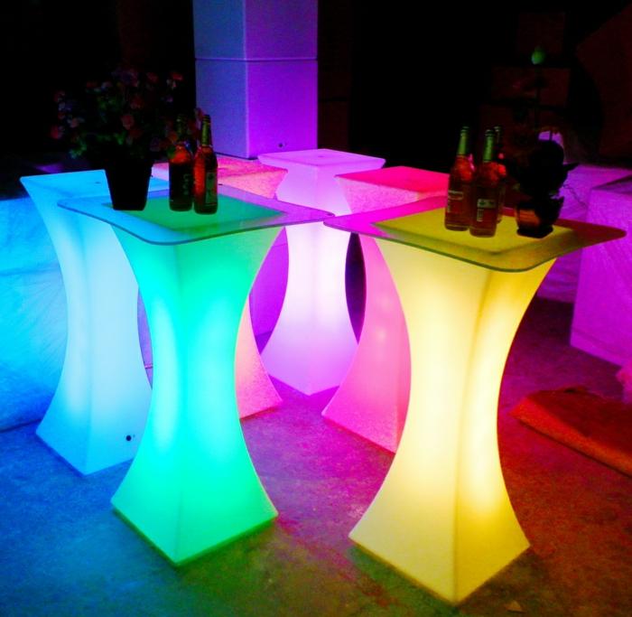 led-tisch-bunte-farben