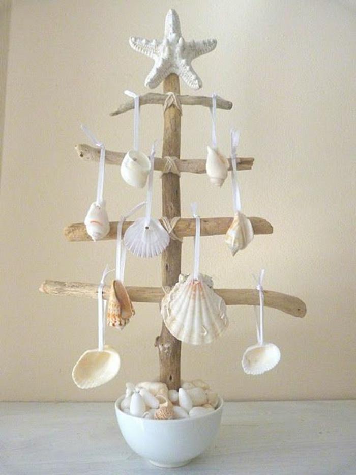maritime-deko-hängende-Muscheln-Baum-Schale
