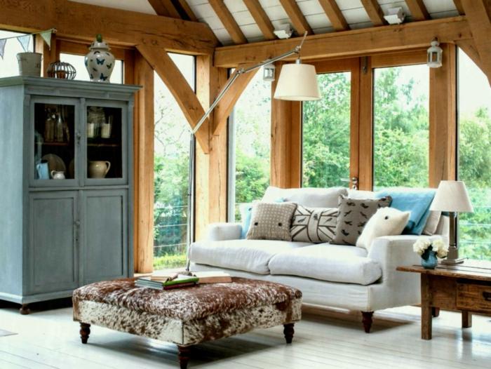 moderne-Landhausmöbel-weiches-Sofa-Nachttisch-Küchenschrank-Villa