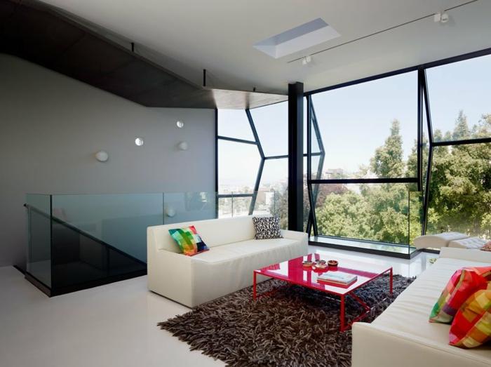 moderne-teppiche-gläserne-wände