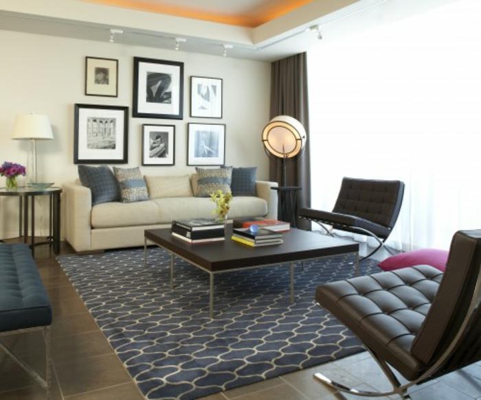 moderne-teppiche-graue-farbe-schön