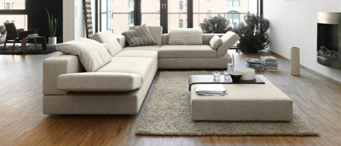 moderne-teppiche-graues-design