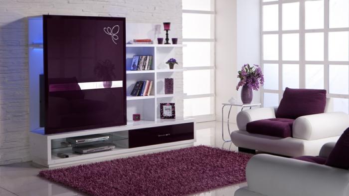 moderne-teppiche-lila-gestaltung