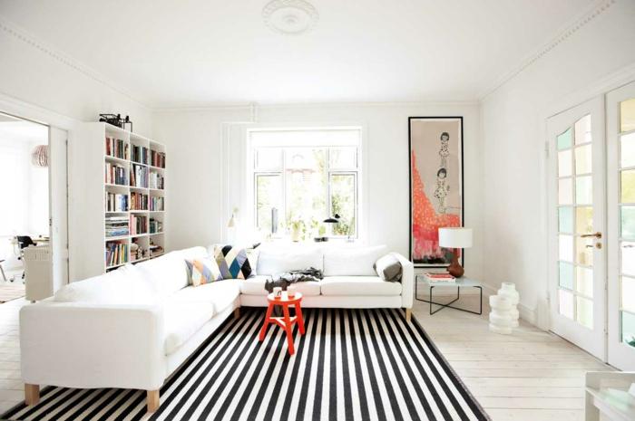 moderne-teppiche-modell-in-weiß-und-schwarz