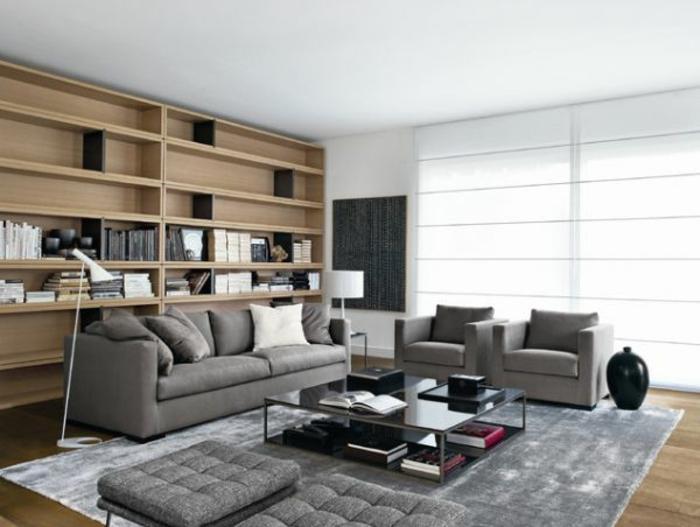 moderne-teppiche-schönes-graues-modell