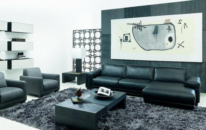 moderne-teppiche-schickes-schwarzes-design