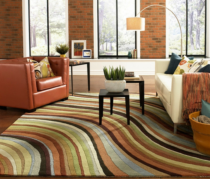 carpet in living room 77 tolle modelle moderne teppiche archzine net 13027