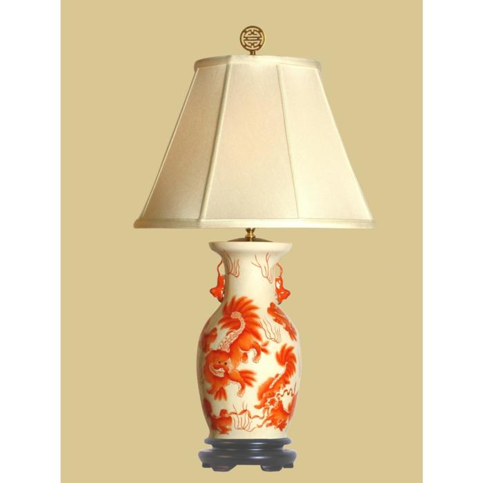 orientalische-Lampe-Porzellan-Foo-Dog-Muster-elegantes-Design