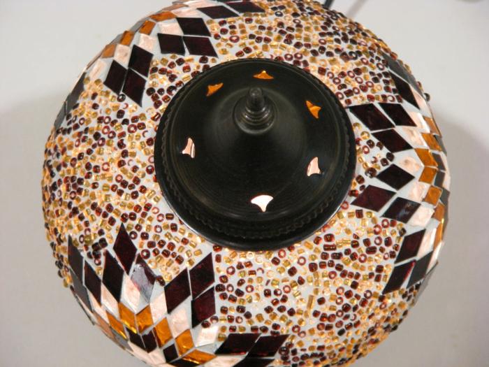 oritentalische-Lampe-türkische-Herrkunft-handgemacht-Mosaik-einzigartiges-Design